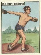 COLLECTION IMAGE SPORT LANCEMENT DU DISQUE  ILLUSTRATEUR - Sports