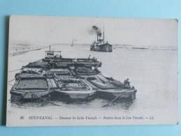 SUEZ CANAL - Navire Dans Le Lac Timsah - Suez