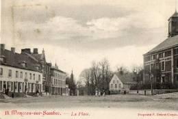 Monceau Sur Sambre - La Place. - Belgique
