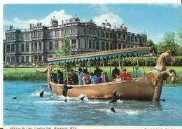 Wiltshire Postcard - Safari On The Lake, Longleat Park, Warminster  SL 2422 - England