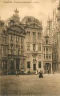 Bruxelles - Maisons Des Brasseurs Et Du Cygne / Nels Série Delft N° 21 / Coul.Sepia - Zonder Classificatie