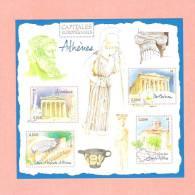 Bloc N° 78 ** - Capitales Européennes : Athènes - Nuevos