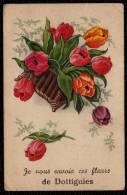 RARE - DOTTIGNIES - Je Vous Envoie Ces Fleurs ! - Mouscron - Moeskroen
