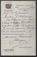 HOFLIEFERANT BRUXELLES LEGATION AUTRICHE AUSTRIA  HONGRIE HUNGARY LA HAYE DEN HAAG GRAVENHAGE HOLLANDE POSTKAART - Postcards [1871-09]