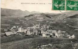 CPA - Meaudre (38) -  Vue Sur Le Bourg - Altitude 1012m. - France