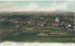 Pâturages - Jolie Panorama Couleur .... De La Commune - 1907  ( Verso ) - Colfontaine
