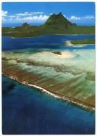 POLYNESIE - BORA-BORA AU CENTRE L´ILOT MOTU TAPU - Polinesia Francese