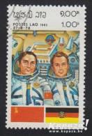 1983 - LAOS - Y&T 469 - Waleri Fjodorowitsch Bykowski & Sigmund Jähn - Laos