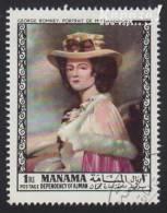 1968 - MANAMA - Y&T 7  - George Romney (1734-1802) - Manama