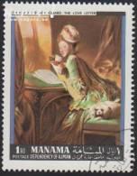 1968 - MANAMA - Y&T 7 - Jean-Honoré Fragonard (1732-1806) - Manama