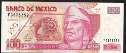 MEXICO   P118b  100  PESOS   26 March 2002  Serie CX       UNC. - Mexico