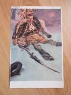 Alfons Mucha - Man - Good Condition - Postcards