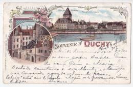 Suisse Schweiz Switzerland Ouchy Gruss Aus Type Vintage Original Postcard Cpa Ak (W3_1616) - VD Vaud