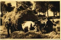 7544 - Haute Loire - CHAMBON Sur LIGNON  :  LA RENTREE DES FOINS DANS NOS CAMPAGNES -   Circulée En 1943 - Le Chambon-sur-Lignon