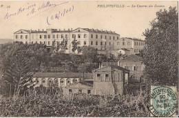 ALGERIE PHILIPPEVILLE  LA CASERNE DES ZOUAVES CPA NO 59 - Andere Städte