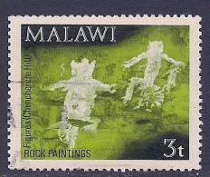Malawi ~ 1972 ~ Rock Paintings ~ SG 413 ~ Used - Malawi (1964-...)