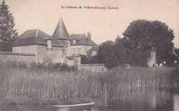 CPA 45 VILLIERS-CHAUSSY ,le Château. (1906) - Francia