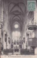 CPA 45 SERMAISES-SU-LOIRET ,Intérieur De L'église. - Francia