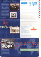 Aérogramme Grande Bretagne - Neuf ** - BELL, Alexander Graham - Postwaardestukken