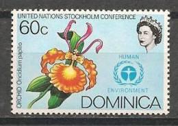 AF331  Dominica  1 Zegel MNH - Orchidées