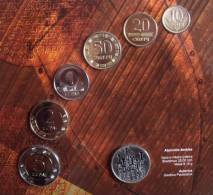 Lithuania 2013 Official Mint Full Set 10,20,50 Centai 1,2,5 Litai Coin And Jeton - Litouwen