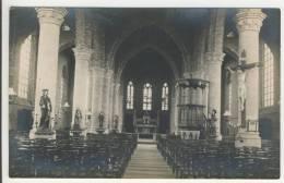 Reninge  Zeldzame Fotokaart  Binnenkant Kerk 1920-25 Zie 2 Scans - Lo-Reninge