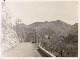 Photo 1933/1934 Luceram Route De L'escarène à Peira Cava - Lieux