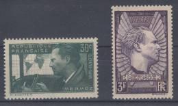 France   N° 337 Et 338  Neuf ** - Unused Stamps