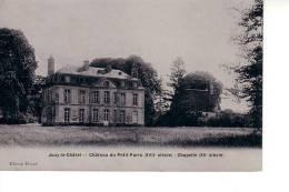 Jouy Le Chatel : Château Du Petit Paris, Chapelle (Edition Picard - Photo-Email A. Breger Frères, Paris) - Autres Communes