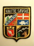ECUSSON TISSUS BRODE  - HAUTE SAVOIE - Patches