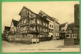 68 RIQUEWIHR - Hote Du Tonnelet D'Or - Riquewihr