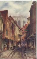YORK - THE SHAMBLES By TOM DUDLEY - York