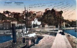 ERCEGNOVI - CASTELNUOVO, Bucht Von Kotor?, Dampfschiff, 1918 - Montenegro