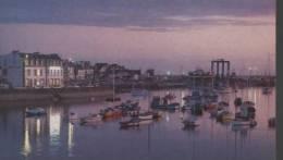 29 - LE GUILVINEC-LECHIAGAT - Nocturne Sur L'arrière-port. - Autres Communes