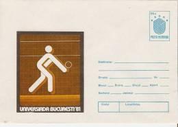 Romania /postal Stationery - Pallavolo