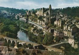 Dép. 19 - UZERCHE. - Vue Générale De La Cité Bâtie Sur Un Promontoire Dominant La Vézère. CAP-THEOJAC - Uzerche