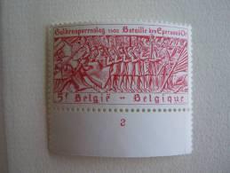 België Belgique 1977 PLANCHE 2 Guldensporenslag COB 1857 MNH ** - Número De Planchas