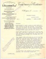TONDEUSES & SECATEURS - OLLIERGUES - Ets G.VILLADERE Fils - Usines Hydrauliques & Bureaux - Datée 1919 - Agriculture