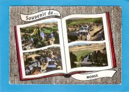 D41 - MOREE - (MULTIVUES)- SOUVENIR DE ... L'EGLISE - LES ECOLES - LA POSTE - L'HOSPICE - LE PONT - état Voir Descriptif - Moree
