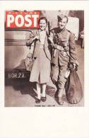 Postcard WW2 Picture Post 1939 Soldier Young Bill Goes To War Nostalgia - Patriotic