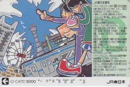 Carte Prépayée Japon - PARC D'ATTRACTION - AMUSEMENT PARK Japan JR IO Card - VERGNÜGUNGSPARK - ATT 327 - Jeux