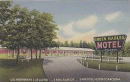North Carolina Sanford U S Highways 1 15 And 501
