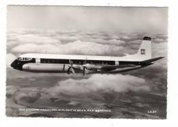 AVIATION  CIVILE  /  THE  VICKERS ' VANGUARD  IN  FLIGHT  IN  BEA ' S  NEW  MARKINGS  /  Edit.  A.V. FRY & Co.  N° LA.37 - 1946-....: Modern Era