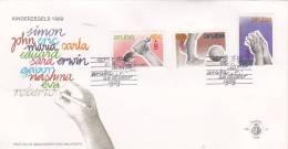 Aruba 1989 Welfare FDC - West Indies