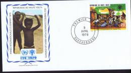 1979  Année Internationale De L'enfant - Obervolta (1958-1984)