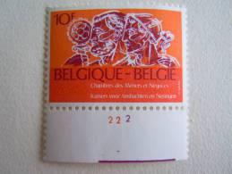 België Belgique 1979 PLANCHE 2 Chambre Des Métiers COB 1939 MNH ** - Plattennummern