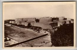 Pakistan - Peshawar Fort - Real Photo Postcard - Pakistan