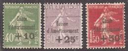 FRANCIA 1931 - Yvert #275/77 - VFU - Francia