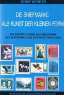 Briefmarke Als Kunst 1977 Antiquarisch 20€ Fachbuch Entstehen Der Postwertzeichen Als Kunstwerk Stamps Book Of Philately - Grafik & Design