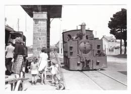 CP Moderne 22 Etables Ligne St Brieuc Paimpol Train Locomotive Vapeur 030 T Blanc Misseron En 1946 Voir DOS - Etables-sur-Mer